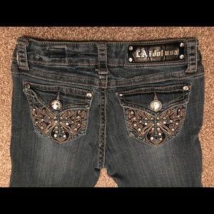 L.A. idol Jeans - LA Idol USA jeans size 3 (28x34)